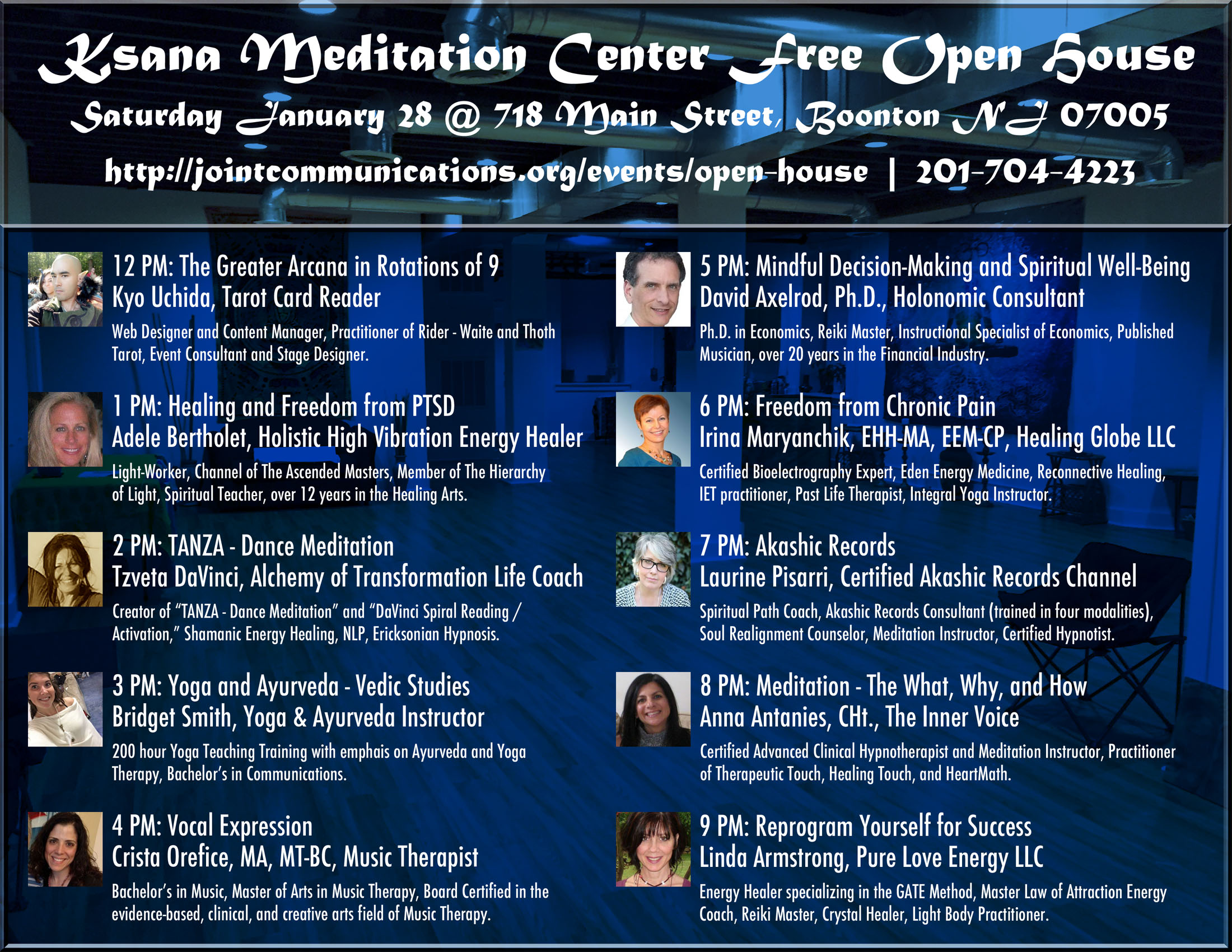 Open House - Ksana Meditation Center - An Open Space for Healing & Growth